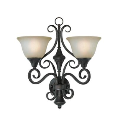 Jeremiah Lighting 24922-BA Torrey - Two Light Wall Sconce