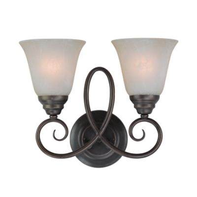 Jeremiah Lighting 25022 Cordova - Two Light Wall Sconce