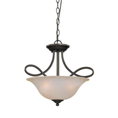 Jeremiah Lighting 25033 Cordova - Three Light Semi-Flush Mount