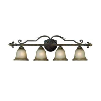 Jeremiah Lighting 25704-BBZ Devereaux - Four Light Vanity
