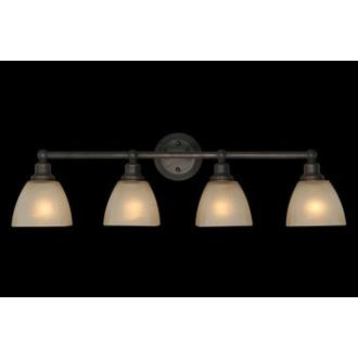 Jeremiah Lighting 26604-BZ Bradley - Four Light Bath Vanity