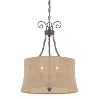 Jeremiah Lighting 27533-SI Quincy - Three Light Foyer