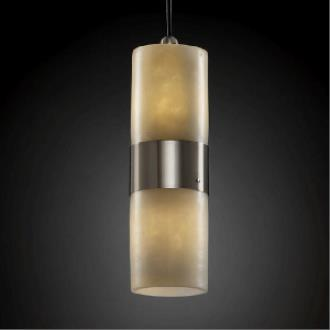 Justice Design CNDL-8758 Dakota - Two Light Small Up and Down Pendant