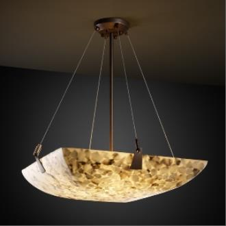 """Justice Design ALR-9644 36"""" Bowl Pendant with Tapered Clips"""