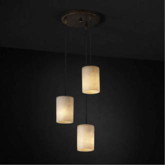 Justice Design CLD-8818 3-Light Cluster Pendant