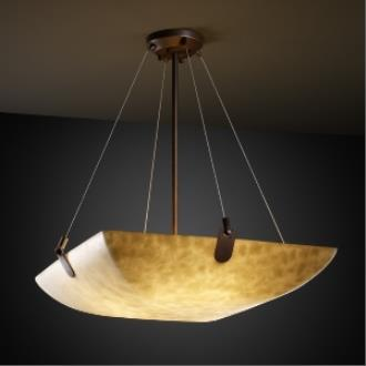 "Justice Design CLD-9627 48"" Pendant Bowl"