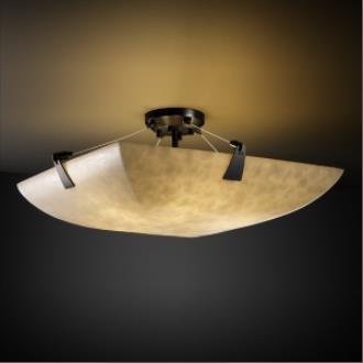 """Justice Design CLD-9637 48"""" Semi-Flush Bowl"""