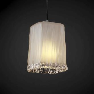 Justice Design GLA-8816 Veneto Luce - One Light Small Pendant