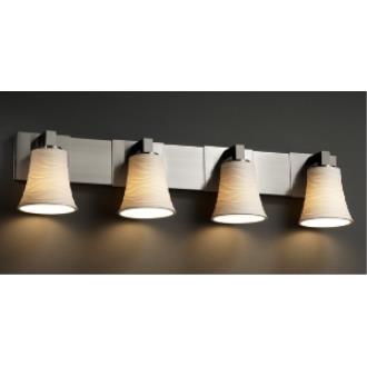 Justice Design POR-8924 Limoges - Four Light Bath Bar