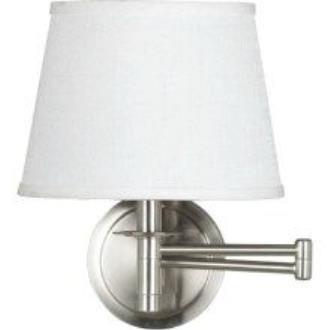 Kenroy Lighting 21011BS Sheppard - One Light Swing Arm Wall Sconce