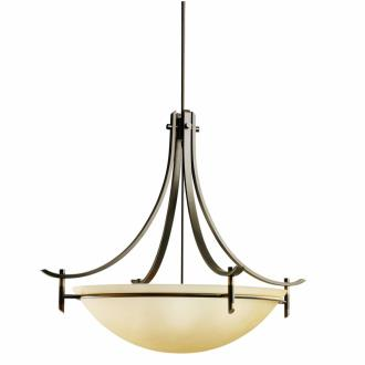 Kichler Lighting 3279OZ Olympia - Five Light Inverted Pendant