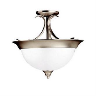 Kichler Lighting 3623NI Dover - Three Light Semi-Flush Mount