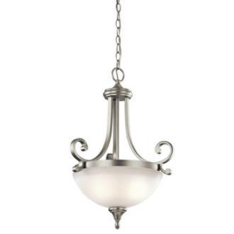 Kichler Lighting 43163NI Monroe - Two Light Inverted Pendant