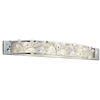 Kichler Lighting 45293CH Jardine - Four Light Bath Bar