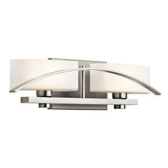 Kichler Lighting 45316NI Two Light Bath Bar