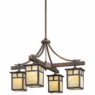 Kichler Lighting 49091CV Alameda - Four Light Chandelier