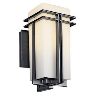 Kichler Lighting 49200BKFL Tremillo - One Light Outdoor Wall Mount
