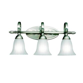 Kichler Lighting 5928NI Willowmore - Three Light Bath Fixture