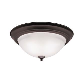 Kichler Lighting 8116OZ Three Light Flush Mount