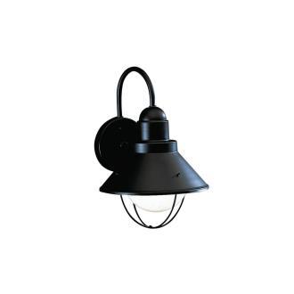 Kichler Lighting 9022BK One Light Outdoor Wall Mount