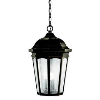 Kichler Lighting 9539RZ Courtyard - Three Light Outdoor Pendant