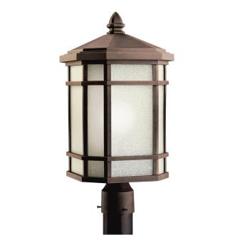 Kichler Lighting 9902PR Cameron - One Light Outdoor Post Mount