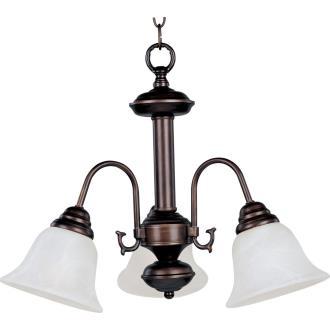 Maxim Lighting 2697MROI Malaga - Three Light Chandelier
