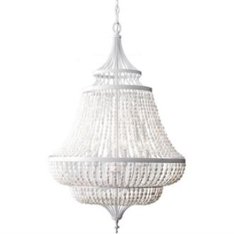 Feiss F2808/6WSG Maarid - Six Light Chandelier