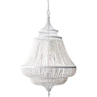 Feiss F2809/9WSG Maarid - Nine Light Two-Tier Chandelier
