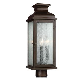 Feiss OL11107 Pediment - Two Light Outdoor Post Mount