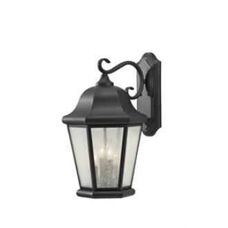 Feiss OL5904BK Martinsville - Four Light Outdoor Wall Lantern