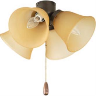 Progress Lighting P2643-20T Airpro - Four Light Universal Fan Kit
