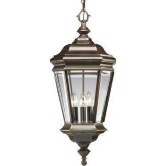 Progress Lighting P5574-108 Crawford - Four Light Outdoor Hanging Lantern