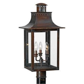 Quoizel Lighting CM9012AC Chalmers - Three Light Post Lantern