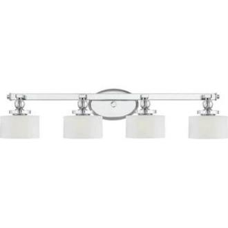 Quoizel Lighting DW8604 Downtown - Four Light Bath Vanity