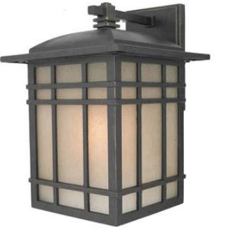 Quoizel Lighting HC8409IBFL Hillcrest - One Light Medium Wall Lantern