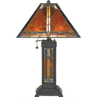 Quoizel Lighting NX615TVA Museum Of New Mexico - Three Light Desk Lamp