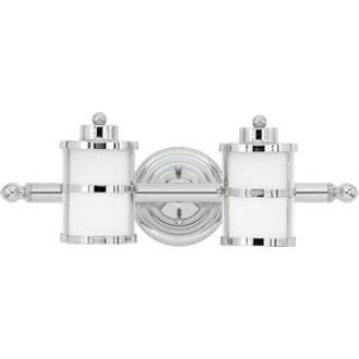 Quoizel Lighting TB8602C Tranquil Bay - Two Light Bath Bar