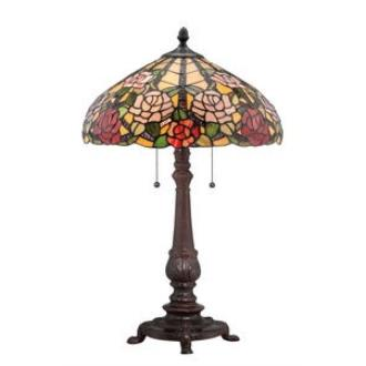 Quoizel Lighting TF1488TRS Bowman - Two Light Table Lamp