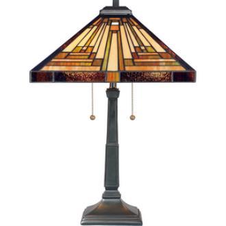 Quoizel Lighting TF885T Stephen - Two Light Table Lamp