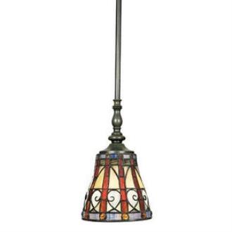 Quoizel Lighting TFAV156VB Ava - One Light Rod Hung Mini Pendant