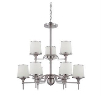 Savoy House 1-4380-9-SN Hagen - Nine Light Chandelier