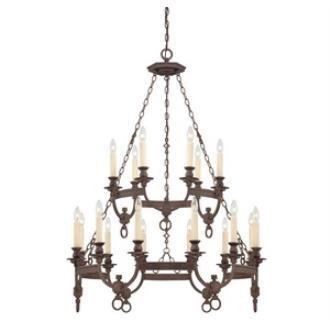 Savoy House 1-6746-18-117 Bastille - Eighteen Light Chandelier