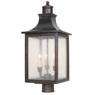 Savoy House 5-255-13 Monte Grande - Three Light Outdoor Post Lantern