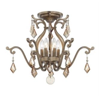 Savoy House 6-8106-6-128 Rothchild - Six Light Semi-Flush Mount