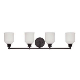 Savoy House 8-6836-4-13 Melrose - Four Light Bath Bar