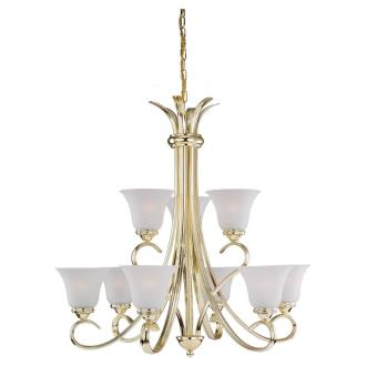 Sea Gull Lighting 31362-02 Nine-Light Rialto Chandelier