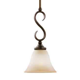 Sea Gull Lighting 61360-829 Single-Light Rialto Mini-Pendant