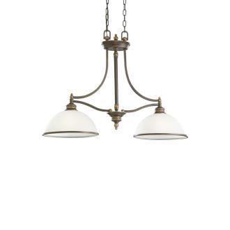 Sea Gull Lighting 66350-708 Laurel Leaf - Two Light Pendant
