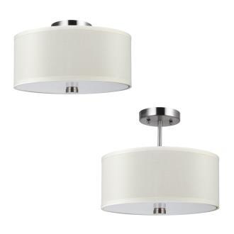 Sea Gull Lighting 77262-962 Dayna - Two Light Convertible Semi-Flush Mount